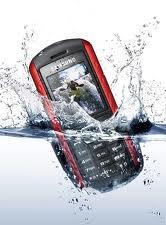вода и сотовый телефон